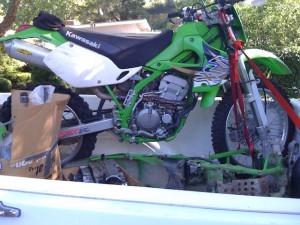 2001 Kawasaki KLX300