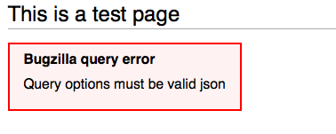 Invalid JSON input now shows an error